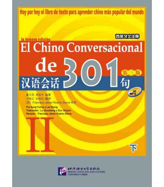 El chino conversacional de 301- Libro + CD Vol. 2