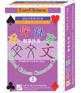 Magical Chinese Characters Cards II. Radical Characters (Juego de cartas para aprender caracteres)