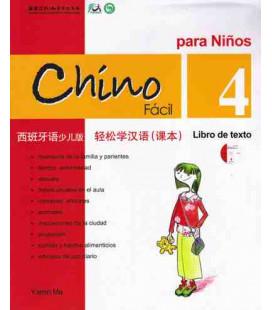 Chino fácil para niños 4. Libro de Texto (CD included)