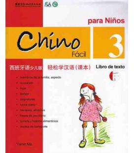 Chino fácil para niños 3. Libro de Texto (CD included)