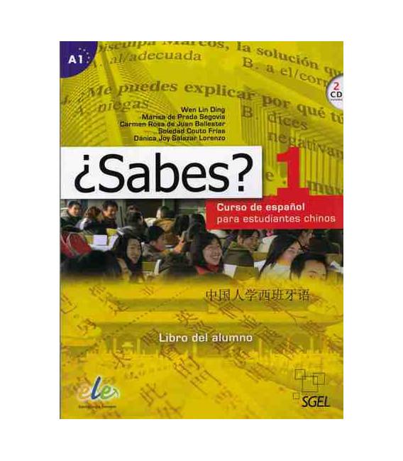 ¿Sabes? 1 - Libro de Alumno (Curso de español para estudiantes chinos) Incluye 2 CD