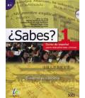 ¿Sabes? 1 - Cuaderno de ejercicios (Curso de español para estudiantes chinos) CD included