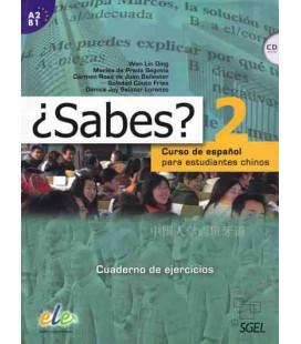 ¿Sabes? 2 - Cuaderno de ejercicios (Curso de español para estudiantes chinos) CD included