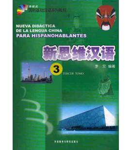 Nueva didáctica de la lengua china para hispanohablantes 3 (CD included)
