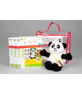 Little Pim- Chinese 3 Pack Regalo Vol 2 (3 DVD + Peluche + Bolsa)