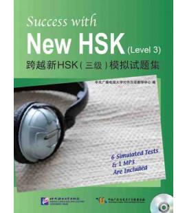Success with the New HSK. Vol 3 (Seis simuladores de examen + 1 CD MP3)