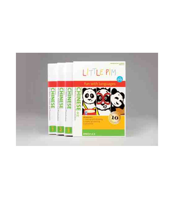 Little Pim- Chinese Pack Regalo Vol 1 & 2 (6 DVD)