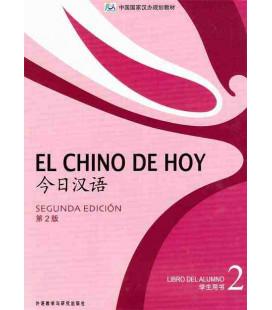 El chino de hoy 2 (Second edition) Libro de texto - CD included MP3