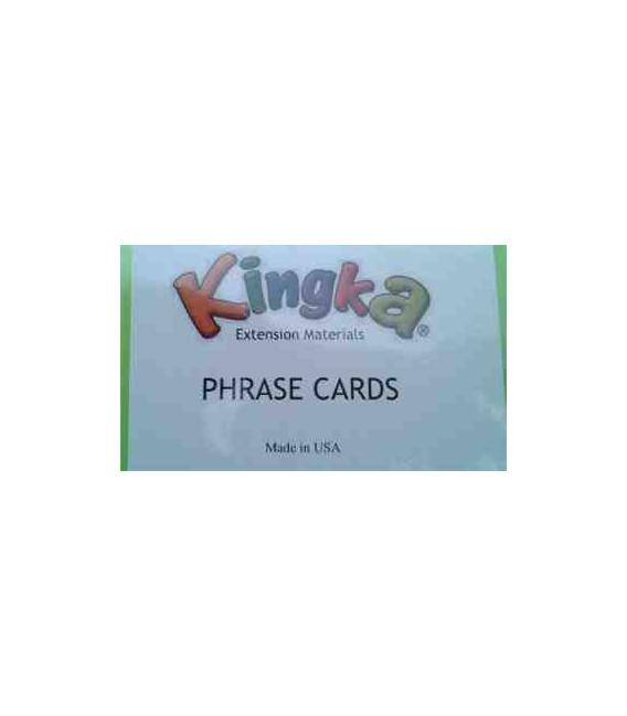 Kingka 2 Phrase Card Set (48 Cards with Teacher/Parent Manual)