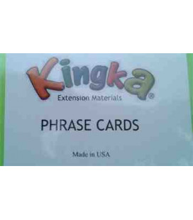Kingka 2 Phrase Card Set (48 Cards with Teacher/Parent Manual)