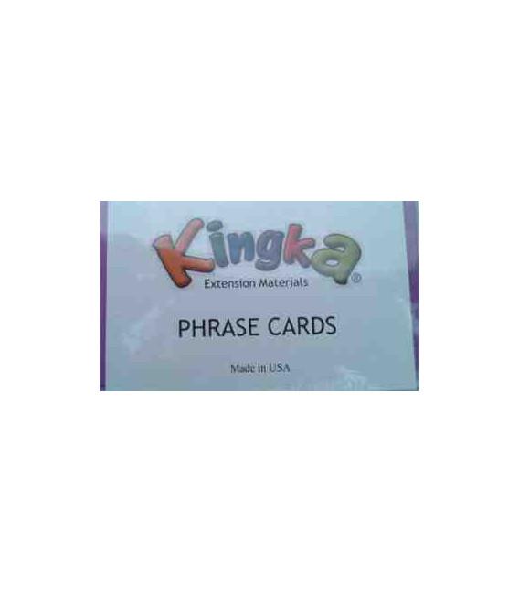 Kingka 3 Phrase Card Set (48 Cards with Teacher/Parent Manual)