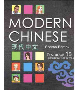 Modern Chinese 1B- Textbook- (2nd Edition) Audio Available for Download