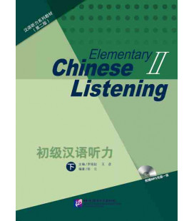 Elementary Chinese Listening 2 (second edition) Libro + CD MP3