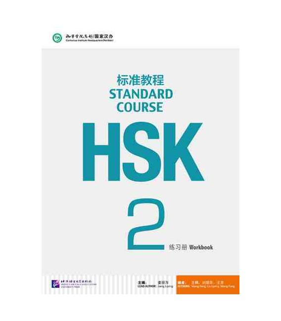 HSK Standard Course 2- Workbook (Libro + CD MP3) Serie de libro de texto basada en el HSK