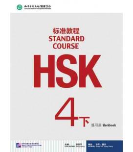 HSK Standard Course 4B (xia)- Workbook (Libro + CD MP3) Serie de libro de texto basada en el HSK