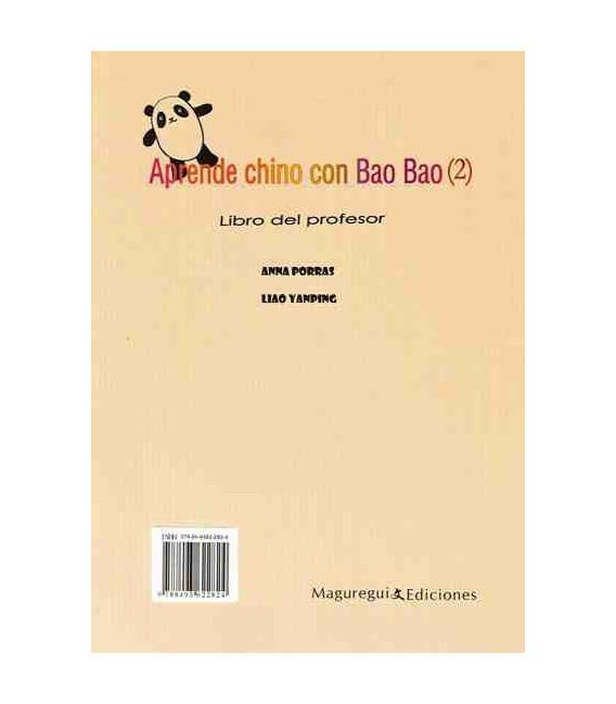 Aprende chino con Baobao 2 (Libro del profesor)