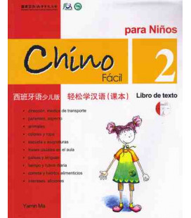 Chino fácil para niños 2. Libro de Texto (CD included)