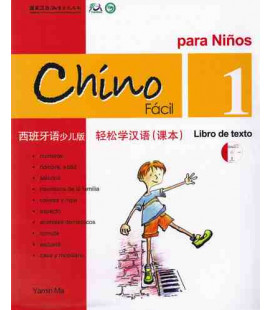 Chino fácil para niños 1. Libro de Texto (CD included)