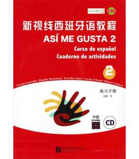 Así Me Gusta 2 (Curso de español - Cuaderno de actividades)- CD included