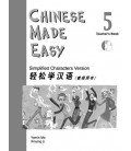 Chinese Made Easy 5 - Libro del Profesor (Incluye CD)